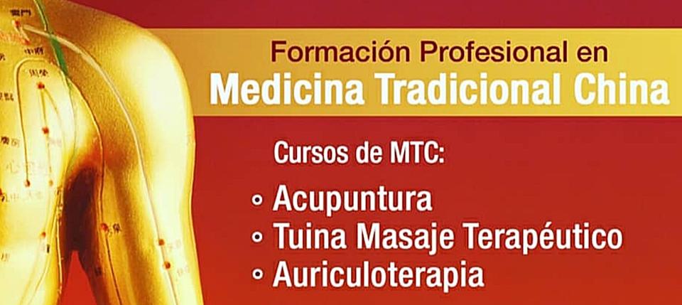 Escuela cursos acupuntura tuina  auriculoterapia medicina tradicional china Barcelona